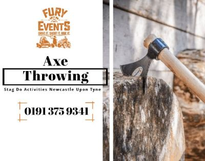 Axe Throwing - Stag Do at Fury Events