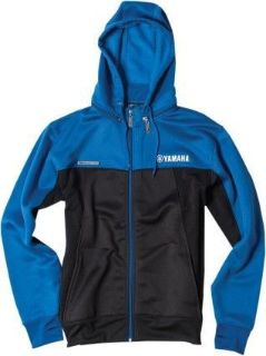 Purchase Factory Effex Tracker Mens Zip Up Hooded Jacket Yamaha/Black/Blue motorcycle in Holland, Michigan, United States, for US $91.37