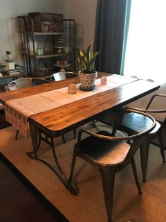 World Market kitchen table & chairs