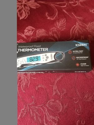 WATERPROOF FOOD THERMOMETER - BY KIZEN. BRAND NEW!