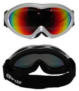 Sell BIRDZ ICE BIRD SKI GOGGLES SNOW MOBILE SNOWBOARD SILVER REVO LENS motorcycle in Jacksonville, Florida, United States, for US $24.75