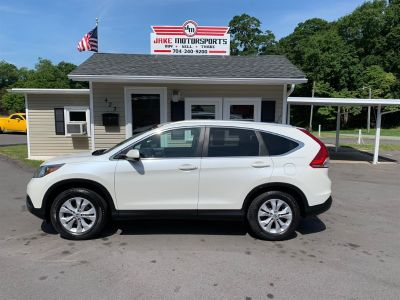 2013 Honda CR-V EX-L (White)