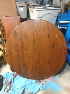 Large Heavy Round table