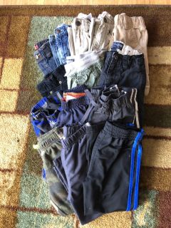 4t pants lot, Very gently used