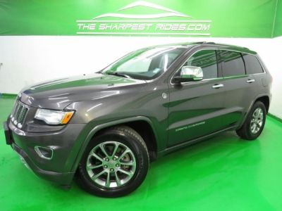 2015 Jeep Grand Cherokee Overland 4X4 Navi Leather 1_Owner_Carfax