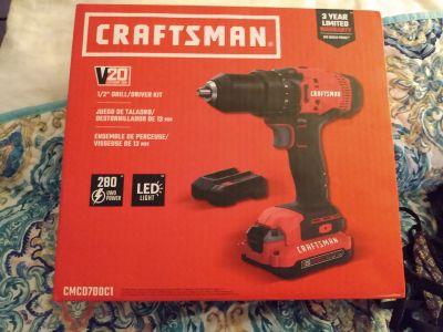 Brand new craftsman drill/driver kit