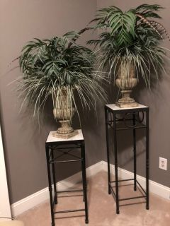 Plant Stands and Urns