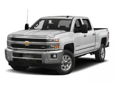 2018 Chevrolet Silverado 3500HD LTZ (Silver Ice Metallic)