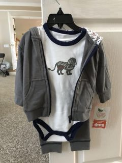 Yoga Sprout Hoodie, Bodysuit, and Pants