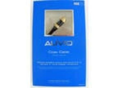 Coax Cable 3ft. Auvio with 24K Gold Plated