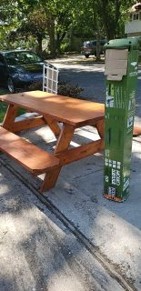 Table and picnic table