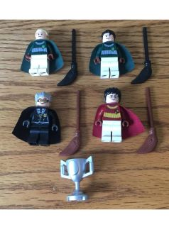 LEGO Harry Potter quidditch minifigures