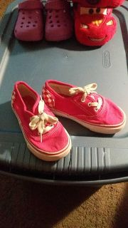Pink shoes size 10