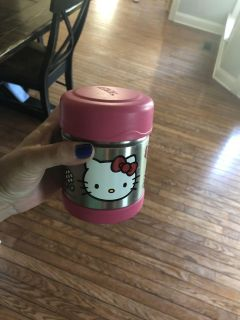 Thermos brand hello kitty container