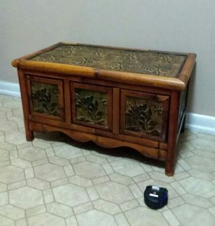 BAMBOO CHEST/WITH THREE DRAWERS........EXCELLENT CONDITION