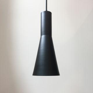 Custom Blackened Steel Pendant