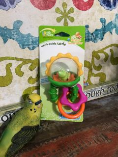NEW The First Years Whirly Twirly Rattle