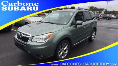 2015 Subaru Forester 2.5i Touring (Jasmine Green Metallic)