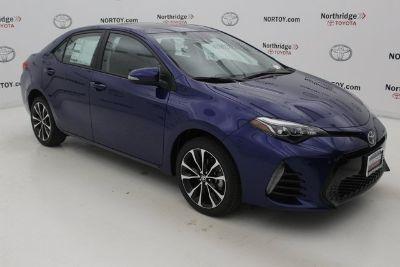 2019 Toyota Corolla L (blue)