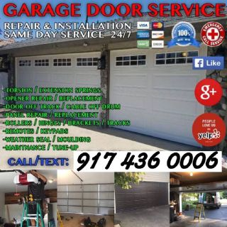 GARAGE DOOR REPAIR & INSTALLATION SERVICES, ALL OVER NEW YORK