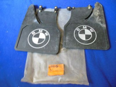 Buy NOS BMW Factory Accessory Mud Flaps 1970's 2002? 726014593 motorcycle in North Haven, Connecticut, United States