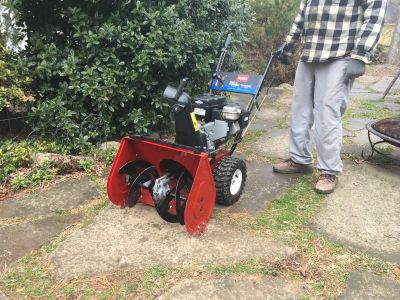 Snowblower Toro 722 Powerthrow