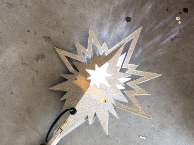 LED Projection tree topper