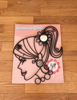 Girl Silhouette for Jewelry/Hair Accessories/Photos