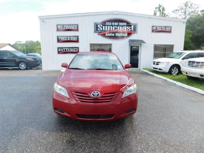 2009 Toyota Camry Base (Red)