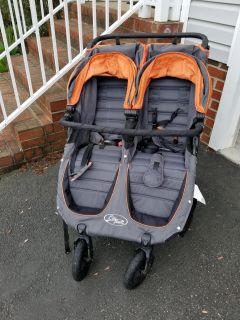 Baby Jogger City Mini Double GT (triple!) and accessories