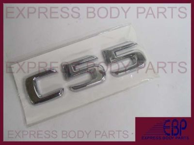 Sell MERCEDES BENZ C55 C CHROME TRUNK LOGO LETTERING BADGE EMBLEM REAR BACK LID motorcycle in North Hollywood, California, US, for US $15.99