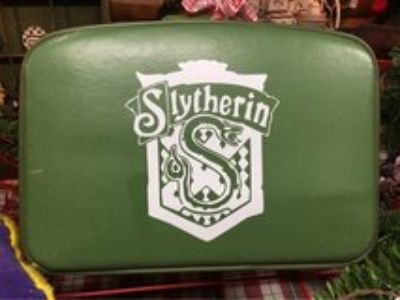 Harry Potter Inspired Vintage Suitcase