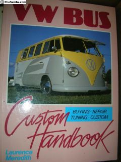 VW Bus Custom Hand book