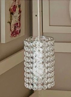 Hanging crystal light!