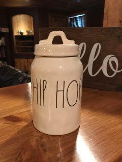Rae Dunn Medium Hip Hop Canister