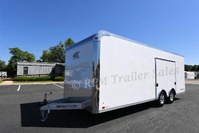 22' ATC Aluminum Car Trailer with Escape Door 11475