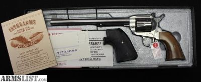"""For Sale: Unfired! Interarms The Virginian Dragoon .44Mag 10.5"""" barrel"""