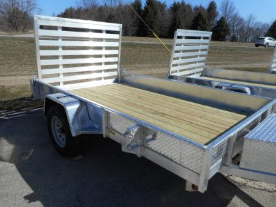 2018 Quality Trailers 6X12 Equipment Trailer Trailers Belvidere, IL