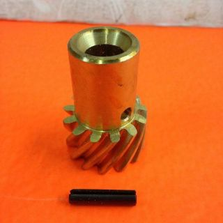 "Purchase BEST DEAL! SBC BBC 262-454 Chevy Bronze Distributor Gear .491"" Stock Shaft msd motorcycle in High Ridge, Missouri, United States, for US $19.95"