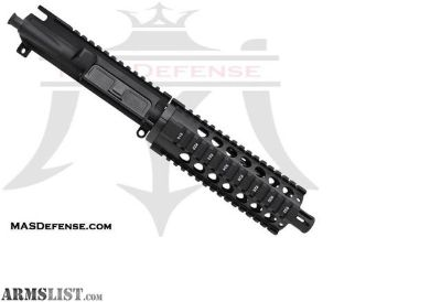 "For Sale: MAS DEFENSE 7.5"" 300 BLACKOUT BARRELED UPPER - VECTOR 7.2"" SERIES - BLEM AR 15, AR15, AR-15, 300 BLACKOUT, AAC,300 BLK"