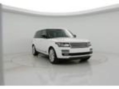 2015 Land Rover Range Rover Supercharged LWB