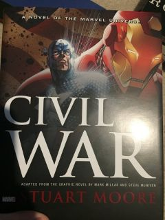 Marvel Civil War Book