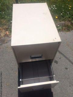 Free 2 drawer filing cabinet