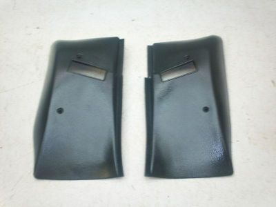 Find 74-81 CAMARO FIREBIRD BLACK FRONT SEAT BELT RETRACTOR COVERS motorcycle in Bedford, Ohio, US, for US $47.99