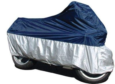 Sell Medium / M Deluxe Nylon Motorcycle Rain-Cover Raincover Sport Bike 250 500cc motorcycle in Ashton, Illinois, US, for US $29.99