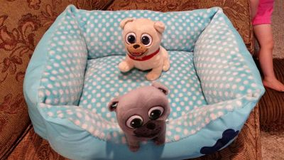Cute soft small dog bed. **BED ONLY**