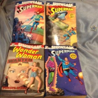 4 DC COMICS THICK BOOKS COLLECTION (500 pages ea.)