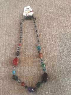 Brand new multi colored bead earring combo