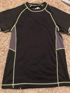 Black/gray/lime YM loose dri-fit NWOT