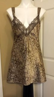 Neiman Marcus Valentino satin and lace gown